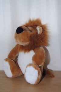14 In (environ 35.56 Cm) Lion Soft Plush Toy-afficher Le Titre D'origine