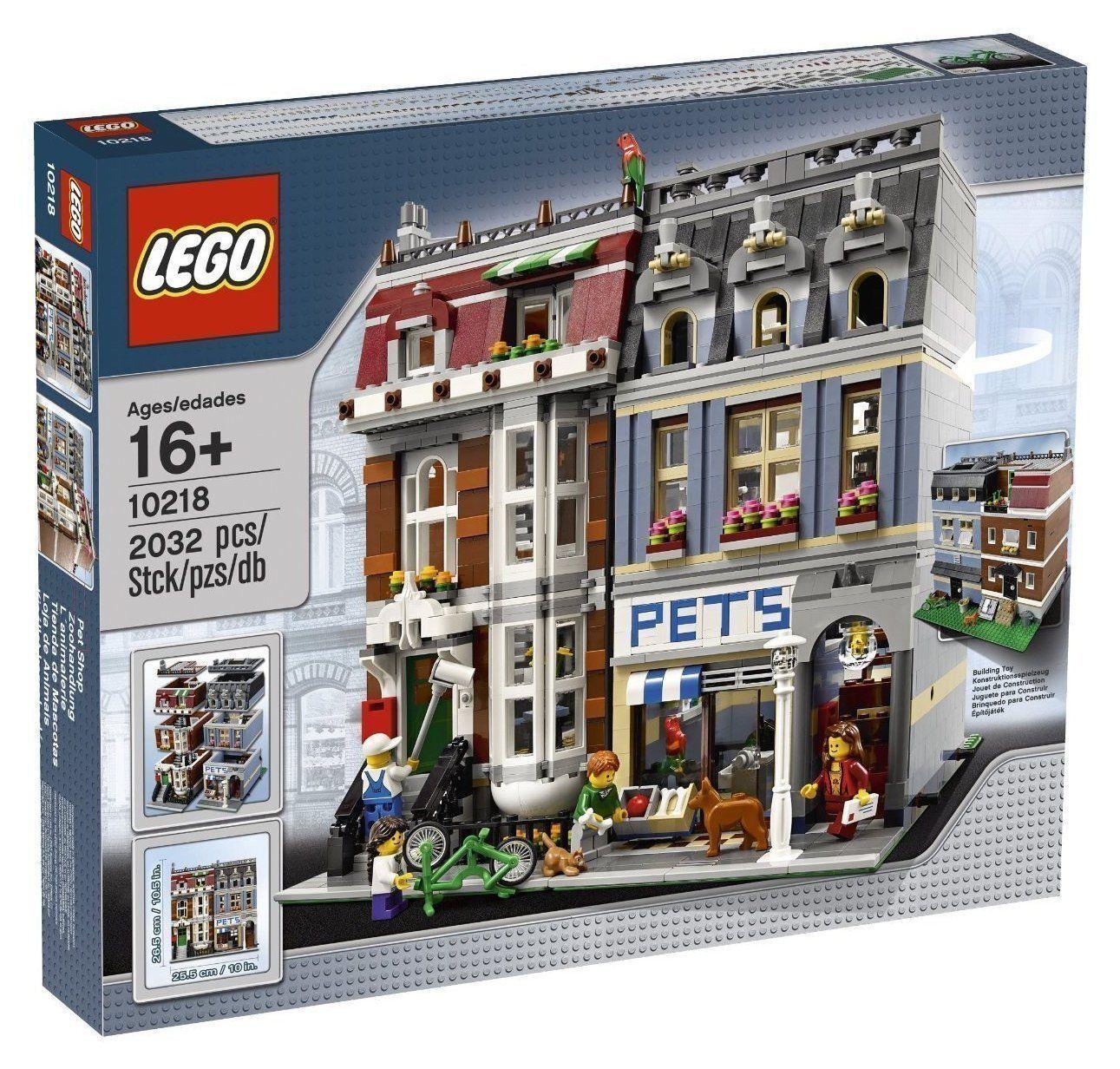 Lego tienda de (10218) New Sealed