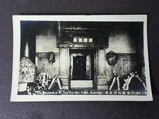 Dr Sun Yat Sen's Tomb Real Photo Postcard Nanking China 1920's The Entrance