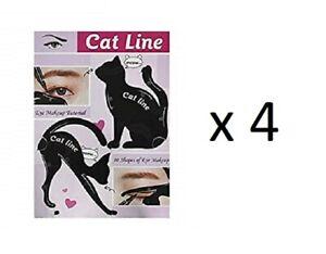 Classic-Beauty-CAT-LIN-Occhio-Trucco-esercitazione-confezione-da-4