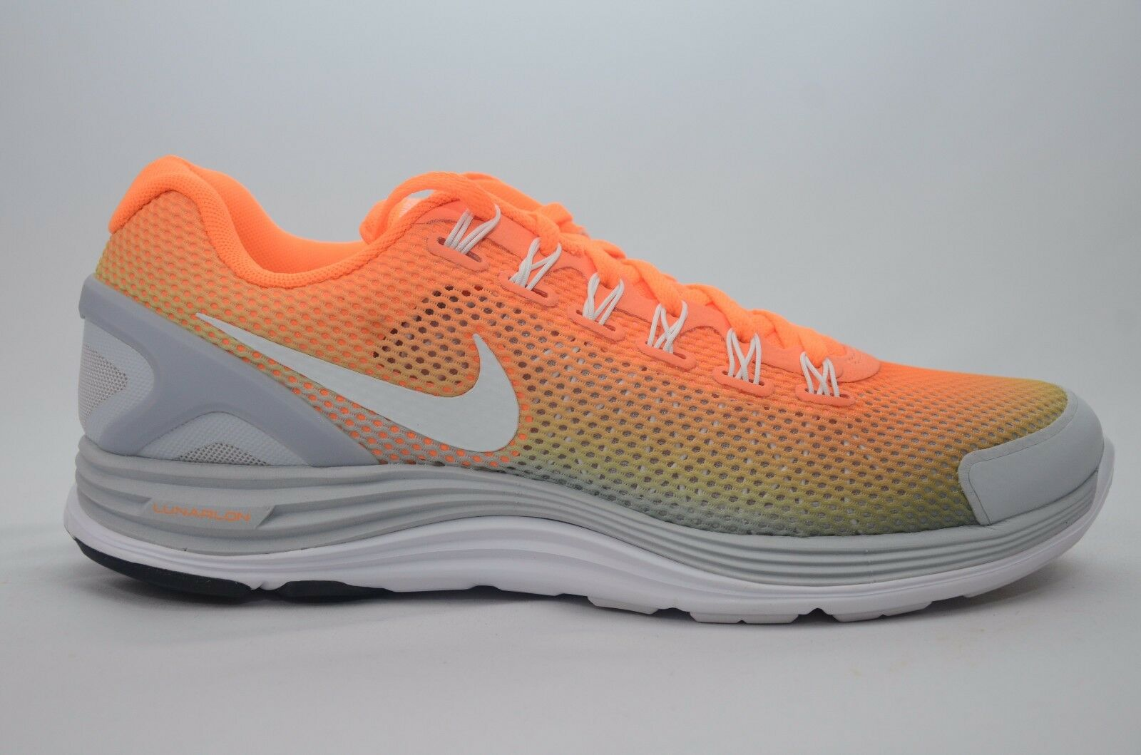 Womens Nike Lunarglide + 4 Breathe Sz 10.5-11.5 New in Box NO Top Lid 579999 810