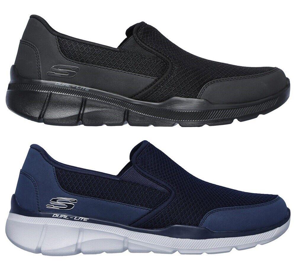 Skechers 52984 Equalizer 3 Blaugate Memory Schuhe Herren Sportschuhe Turnschuhe