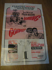 SHOT IN THE DARK / PINK PANTHER Orig, 1sh Movie Poster '66 wacky Peter Sellers