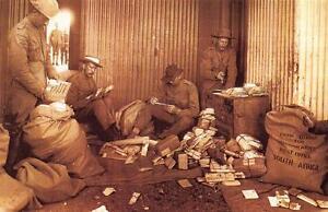 Postcard-Nostalgia-The-BOER-WAR-1899-1902-Christmas-Mail-Reproduction-Card