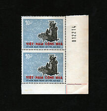 1967 South Vietnam MNH Foundation of Vietnamese Cultural Institute 10D w/ Number