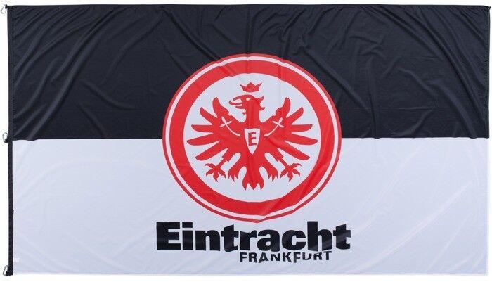 Hissflagge Fahne Eintracht Eintracht Eintracht Frankfurt Classic Flagge - 150 x 250 cm  | Starke Hitze- und Abnutzungsbeständigkeit  9e7c2a