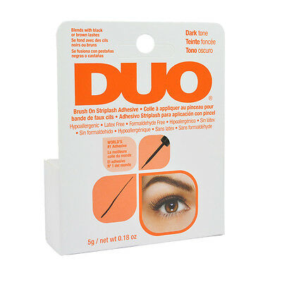 Duo Brush on Striplash Adhesive Dark Tone for Strip Lashes 5g #56896