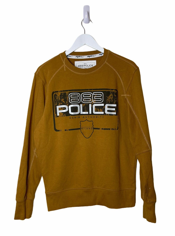 Mens 883 Police Camel Sweatshirt - Medium - FREE P&P