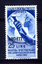 TRIESTE - Zona A - 1952 - Mostra d'Oltremare e del lavoro italiano nel mondo