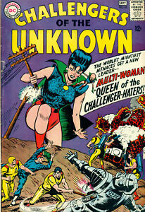 CHALLENGERS-OF-THE-UNKNOWN-45-1965-DC-Comics-VG