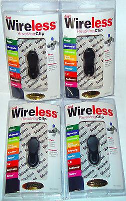 Lot Of 4 - Universal Belt Clip Mount Cell Phone Mobile Phone Swivel Bag Holster