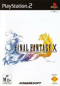 Final-Fantasy-X-PAL-for-Sony-Playstation-2-PS2-from-Squaresoft-SCES-50490-ANZ