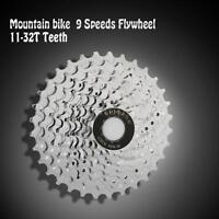 Bicycle Steel 11-32t Teeth Crankset Cycling Part 9 Speed Cassette Flywheel V5v3