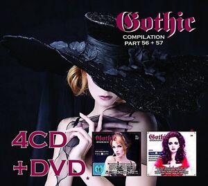 Gothic-Compilation-56-57-4-CD-DVD-NEUF