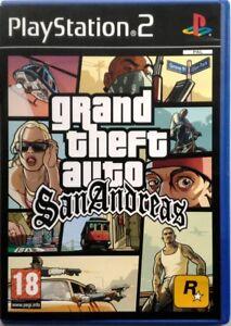 Gioco-PS2-GTA-Grand-Theft-Auto-San-Andreas-Rockstar-Sony-Playstation-2-Usato