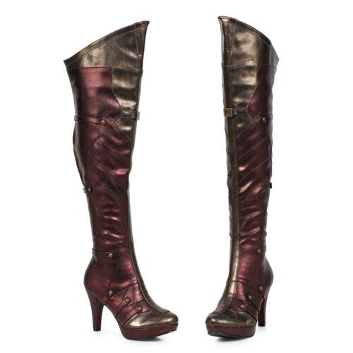 Nouveau Rockport vieilli cuir bottes d/'équitation femme marron-Choisissez votre taille