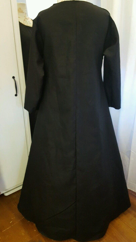 Untergewand Mittelalter Kleid Gewand LARP Gr. 46 48 50 Leinen Leinen Leinen langarm schwarz  | Lebhaft  | Qualitätsprodukte  | Reparieren  | Realistisch  | Klein und fein  b2c2e0