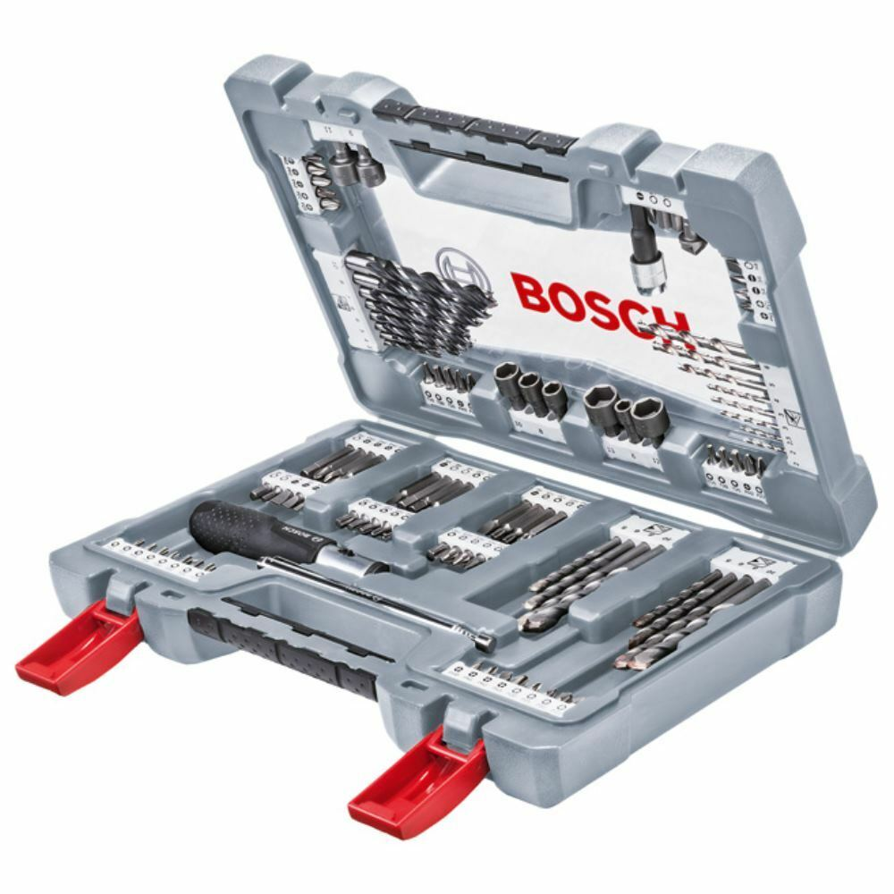 BOSCH Bitsatz Bohrersatz 105-tlg. Premium Set