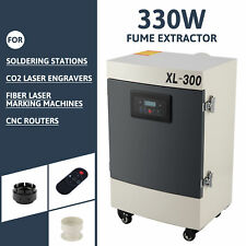 330w Fume Extractor 5 Stage Filter Air Purifier For Co2 Laser Engravers And More