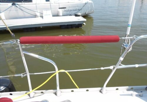 """2 @ 54/"""" Real Sunbrella Life Line Covers Sailboat Life Line Covers"""