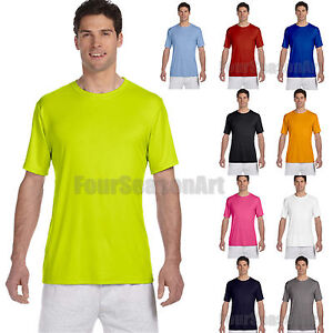 Hanes-Mens-Cool-Dri-Short-Sleeve-Performance-T-Shirt-Polyester-Tee-S-3XL-4820