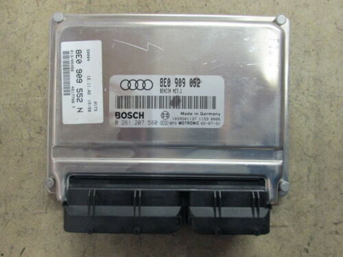 Motorsteuergerät Steuergerät 2.4 V6 BDV AUDI A4 A6 8E0909052 8E0909552N Cabrio