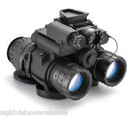 Nvd Bnvd Military Spec Night Vision Dual Tube Binocular Gen 3 Itt Pinnacle (p) on sale