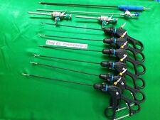 10pc Laparoscopic Set 3mmx230mm Laparoscopy Endoscopy Surgical Instruments
