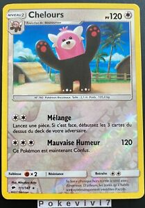 Pokemon card teraclope 52//147 reverse sun and moon 3 sl3 french new
