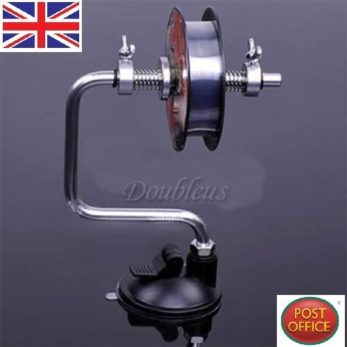 Aluminum Portable Fishing Line Reel Spooler Spool Winder Winding System Tackle