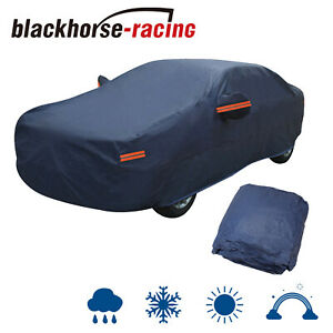 Full-Car-Cover-Waterproof-UV-Dust-Rain-Snow-Ice-Resistant-All-Weather-Protection