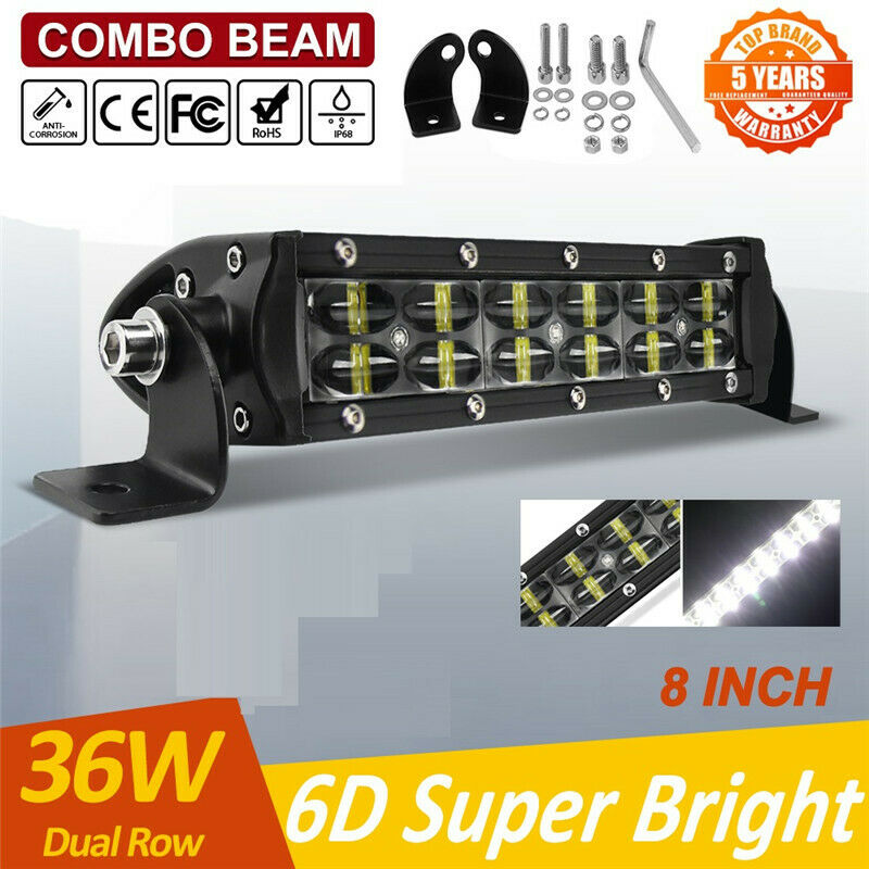 42 240w Led Lightbar Gebogen 12v 24v Offroad Günstig Kaufen Ebay