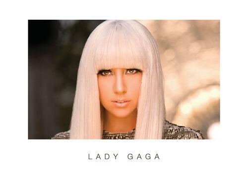 Lady Gaga 4 Germanotta American Singer Poster Pop Music Star Photo Beauty Lady