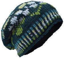 3bfa3f5ed3d item 3 Wool Fleece Lined Hat Skull Cap Knitted Hippie Bohemian  Multicoloured Beanie Hat -Wool Fleece Lined Hat Skull Cap Knitted Hippie  Bohemian ...