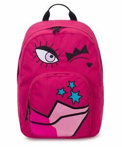 Mochila Invicta Caras Ollie Cara Paquete Fantasy Pink