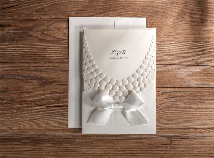 Abziehen Prägung Hochzeits Einladung Karten Personalisierte 3d Weiß   Neuankömmling    Hat einen langen Ruf    Deutschland