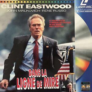 LASERDISC-DANS-LA-LIGNE-DE-MIRE-WS-VF-PAL-Clint-Eastwood-John-Malkovi