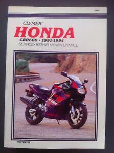 Clymer-HONDA-Motorbike-CBR-600-1991-1994-Service-Repair-Manual