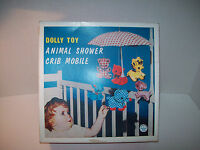 Dolly Toy Comay 30 1972animal Shower Crib Mobileinstruction3+made In Usa40