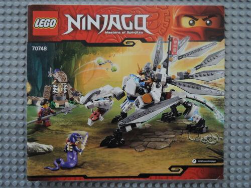 Lego de recette//Instruction Ninjago 70748