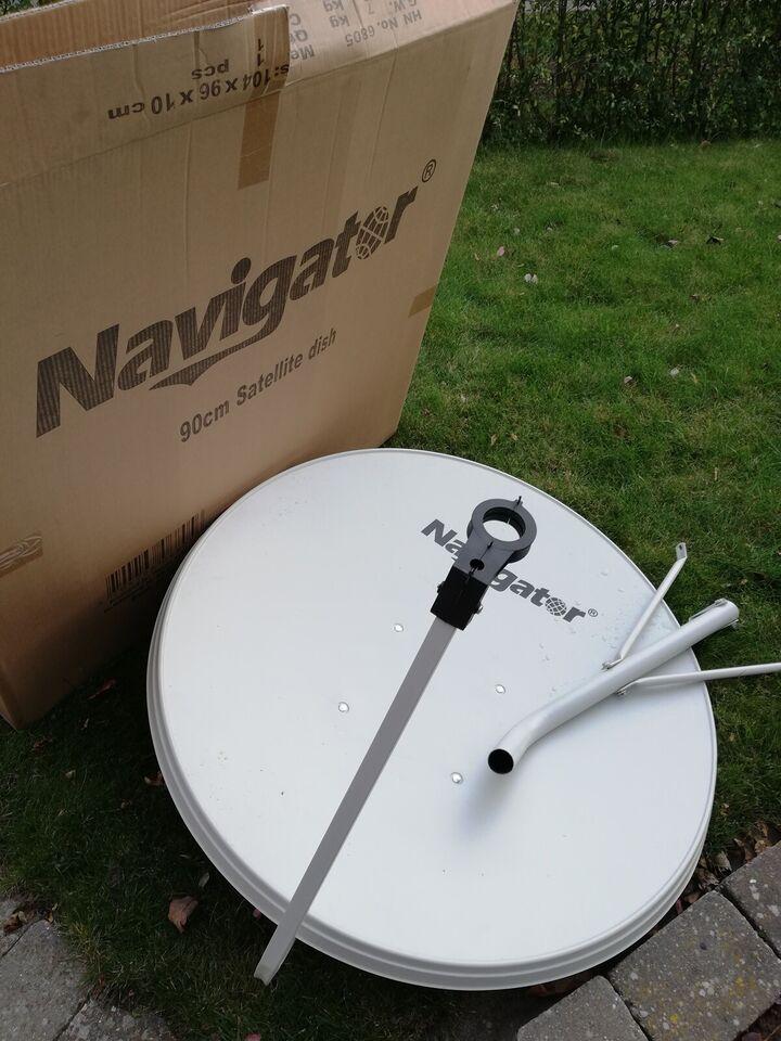 Parabol, Navigatør