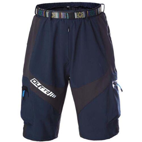 Mens Mountain Bike MTB Shorts Padded Cycling Pants Underwear  Bicycle Sportwear