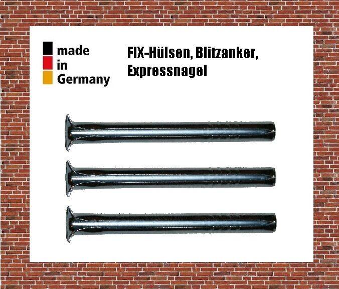 Expressnagel- Stahl Federstahl Blitz-Anker , Schnellmontage - Dübel
