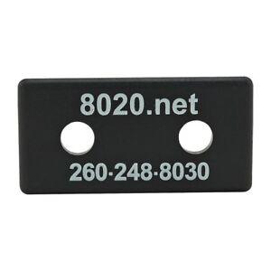 80-20-Inc-10-Series-Black-ABS-Plastic-End-Cap-w-Fasteners-for-1020-2025-N