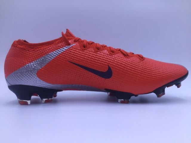 red soccer cleats