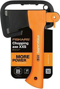 X5  1015617 Schwarz Orange Fiskars Freizeitbeil