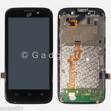 LCD Display Touch Screen Digitizer + Frame Assembly For ZTE Net10 Majesty Z796C