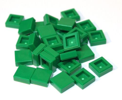 30x LEGO® Fliese//Kachel 1x1 3070b NEU Grün