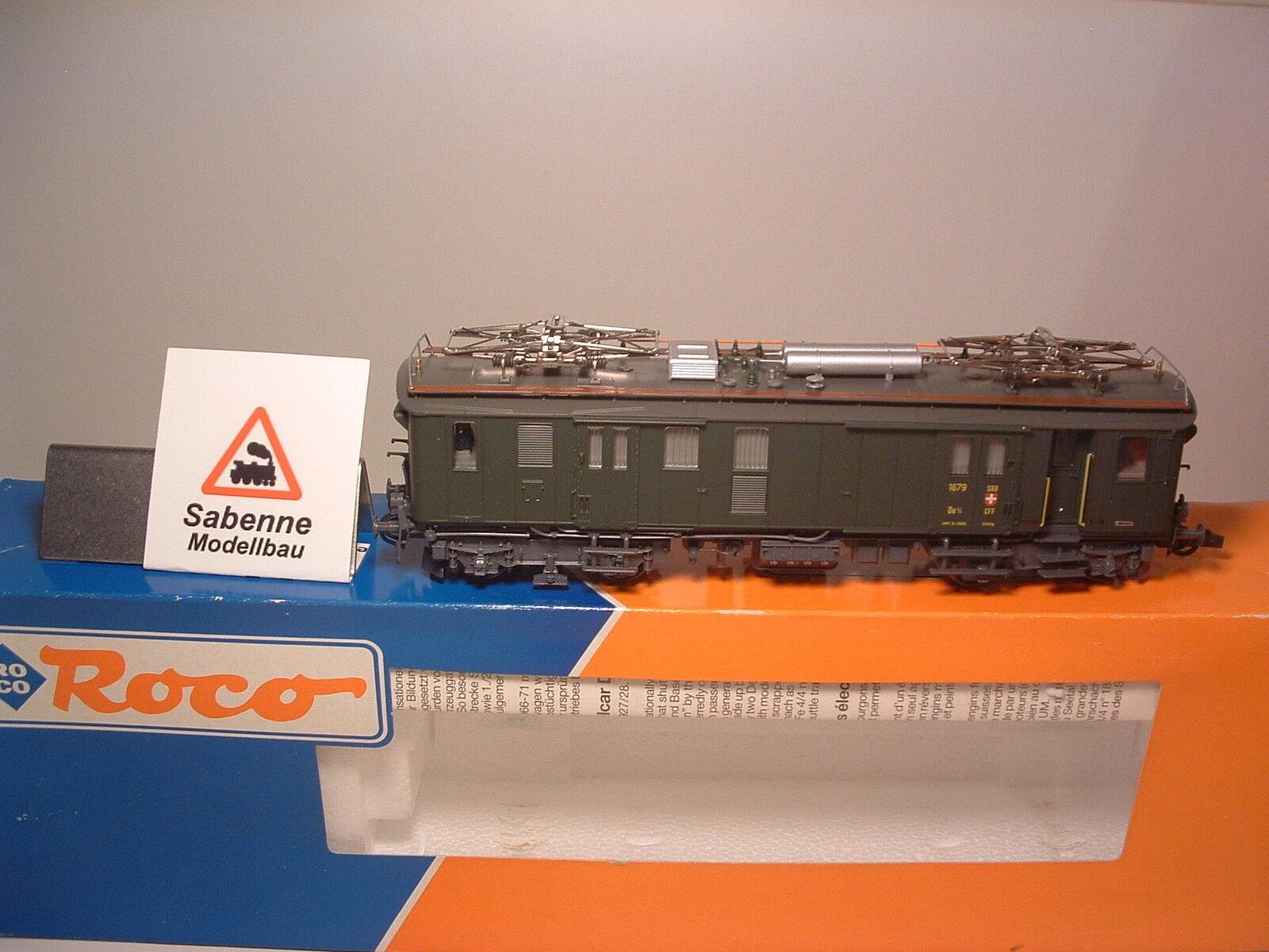 Roco h0 43630 eléctrica gepäcktriebwagen de 4 4 SBB OVP raras