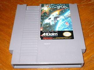 Destination Earthstar Game f. NES Original Nintendo Entertainment System Acclaim